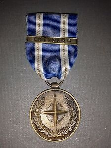 MEDALLA- IN SERVICE OF PEACE/ FREEDOM- ORG DUTRAITE DE LA ATLANTIQUE NORD
