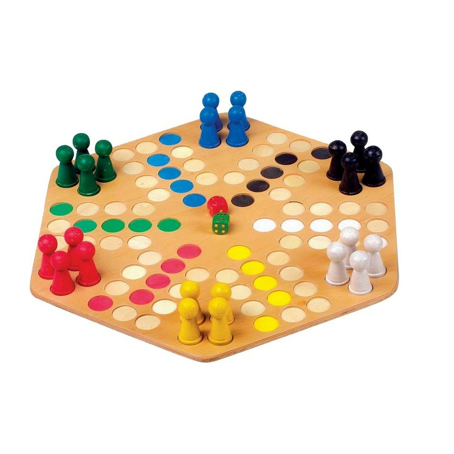Legler Ludo for 6 Board Board Board Game a4f2b1