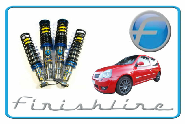 Gaz Gold Pro Adjustable Coilovers - Renault Clio - 172/182 - GGA466