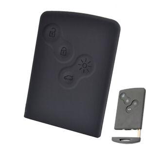 For Renault Laguna Megane Scenic Clio Duster Silicone Key Case Remote Fob Cover