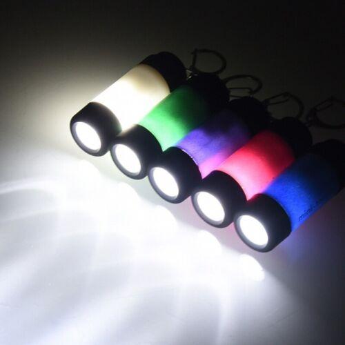 Mini USB Rechargeable Torch LED Light Flashlight Lamp Pocket Keychain Torch Du