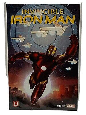 Invincible Iron Man #1 Deadpool Party Variant Comic Book NM Marvel Direct J/&R