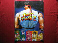 """Fight Ryu Guile Ken ChunLi Game 30/""""x24/"""" Poster 165 Street Fighter"""