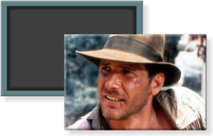 """Raiders of the Lost Ark FRIDGE MAGNET movie poster /""""style A/"""" indiana jones"""