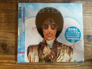Prince-Art-Official-Age-JAPAN-CD-New-amp-Sealed
