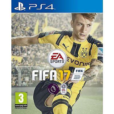 FIFA 17 Inc 5 Free FUT Draft Tokens (PS4) NEW & SEALED - Fast Dispatch