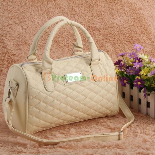 Women/'s Handbag Pu Leather Shoulder Bags Tote Crossbody Messenger Satchel Lot