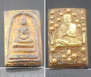 Antiques-Phra-Somdej-LP-Toh-Naga-Relics-Thai-Buddha-Wat-Phra-Kaew-Amulet-Pendant