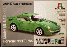1993 Porsche 911 Turbo ( 993 ),1:24, Italeri 3682