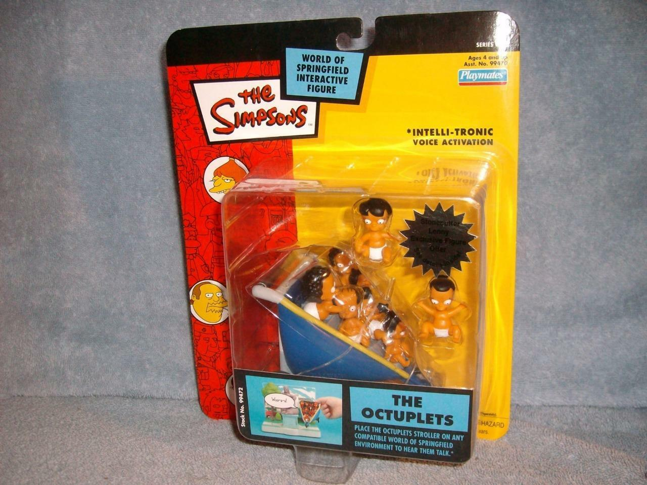 The Octuplets Simpsons Playmates Interactive Talking Figure Series 15 2003 New