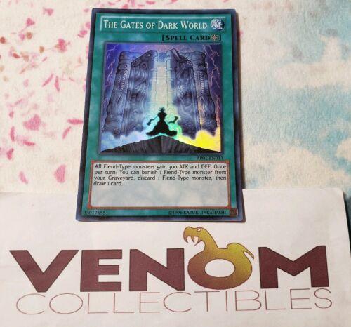 M//NM Super Rare Unlimited YuGiOh AP01-EN013 - The Gates of Dark World 1x