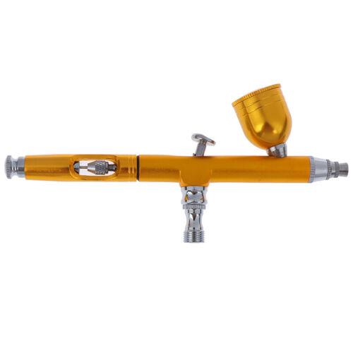 Dual Action Gravity Feed 0.3mm Spray Airbrush Gun Nail Art Paint Tattoo Toolˉ