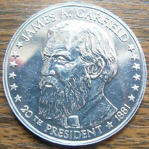US-American-20th-President-James-A-Carfield-Aluminum-Proof-Quality-Jetton-Token