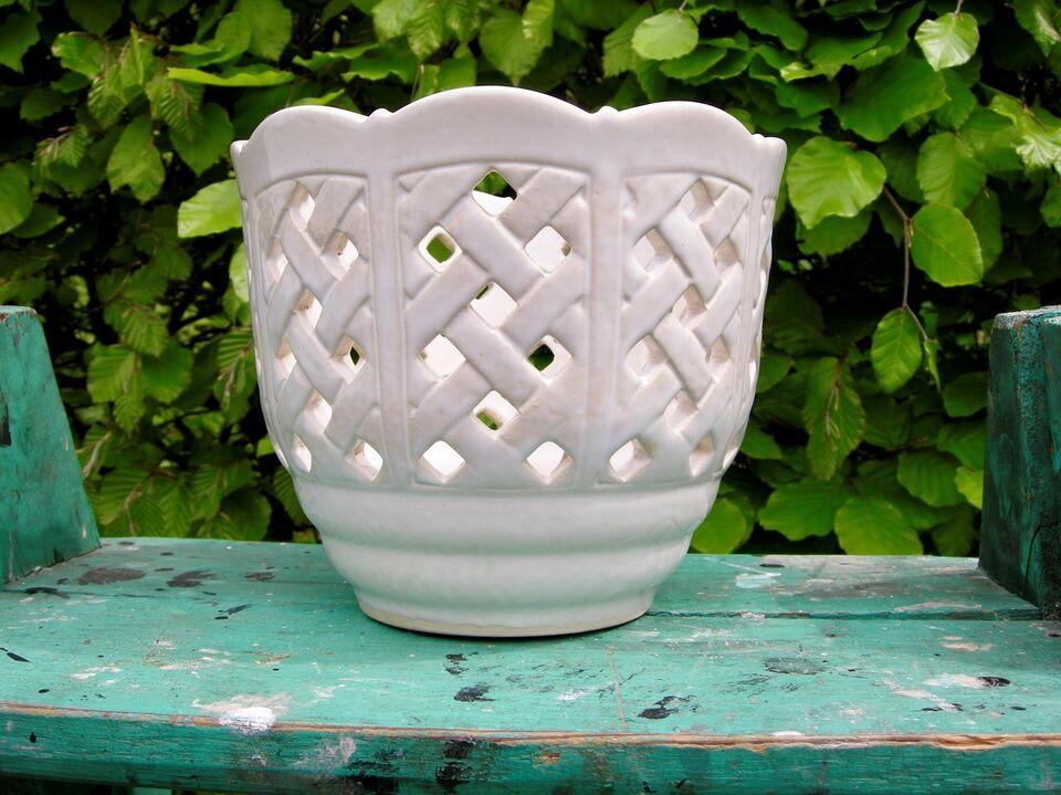 Keramik, Urtepotteskjuler - potteskjuler - retro potte,