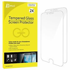 Premium Tempered Glass Screen Protector iPhone 6s JETech 2-pack