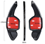 Echt-Carbon-Schaltwippen-Shift-Paddle-Audi-2004-2012-A1-A3-A4-A5-A8-TT-Typ-B Indexbild 6