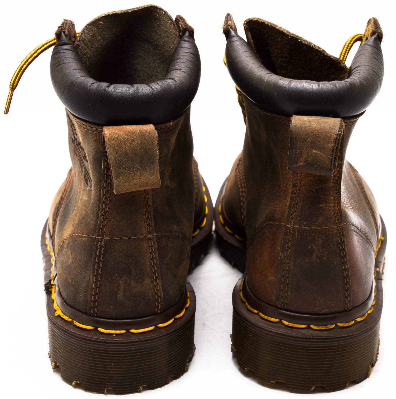Dr. Martens Vintage 1990s Horse Aztec Crazy Horse 1990s P/Collar Pelle Boot sz fef1b8