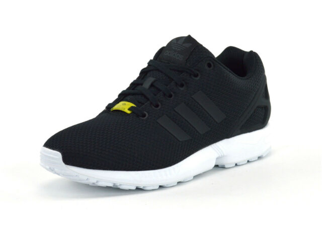 15f8c22ce ADIDAS ORIGINALS ZX FLUX - BLACK - M19840 - MENS TRAINERS - BRAND NEW