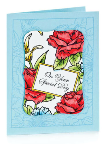 Beautiful Stamped Frames Creative Designs Themes Greeting Cards Design Book NEW