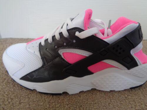 girls trainers sneakers shoes 654280 104 NEW+BOX Nike Air Huarache Run GS