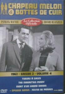 DVD-NEUF-CHAPEAU-MELON-amp-BOTTES-DE-CUIR-1962-SAISON-2-VOLUME-4
