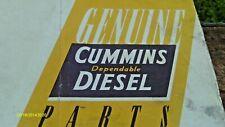 Vintage 1942 Genuine Cummins Dependable Diesel Parts Price Book All Models 53 Pp