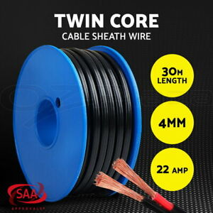 4MM-Electrical-Cable-Electric-Twin-Core-Extension-Wire-30M-Car-450V-2-Sheath