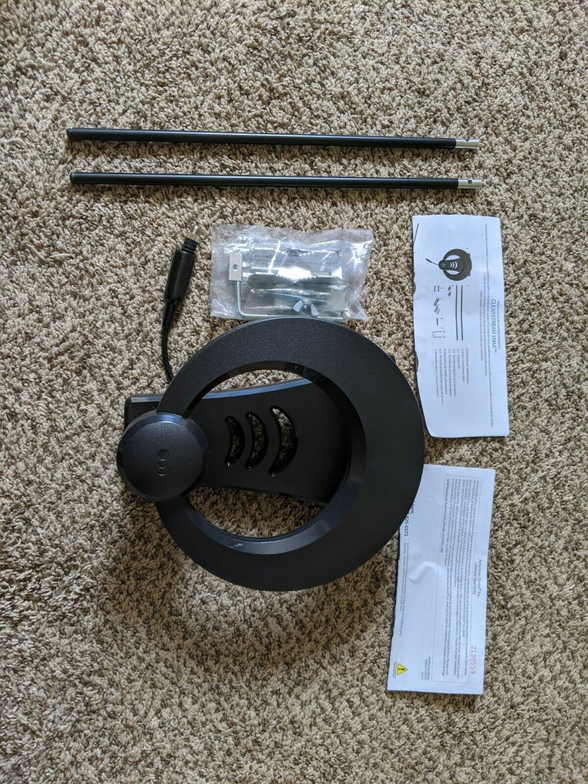 Antennas Direct ClearStream 1MAX Indoor/Outdoor Multidirectional TV Antenna. Available Now for 15.94