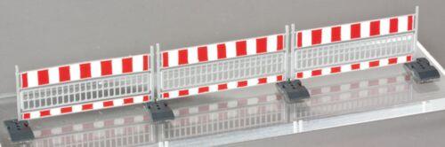 Weinert 3267 cantieri Cantieri provvisti di lunghezza 36 cm h0 1:87 KIT argentata