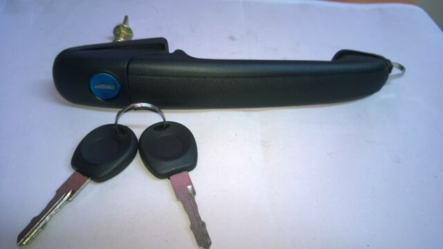 VW SHARAN 94-10 FORD GALAXY 95-06 OUTER LH RH FRONT DOOR HANDLE WITH KEYS 56mm