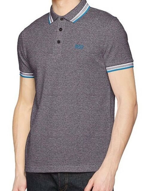 74d88bb5 Hugo Boss Paddy Polo T Shirt Dark Grey 50302557 Size M for sale ...