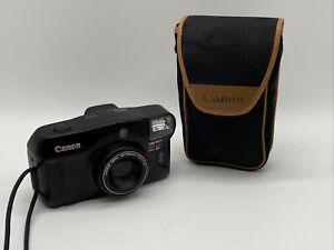 Canon Sure Shot 80 Tele 35mm Date SAF Point & Shoot Camera