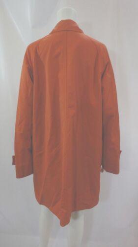 Orange L Water Ramosport Coat Size Resistant Paris Front Overcoat Snap zBqS5w