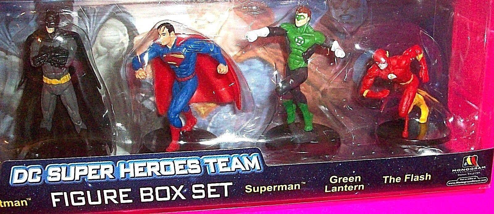 DC Super Heroes Team ACTION FIGURE Set Set Set Batman Superman Wonder Woman Joker Flash d31228