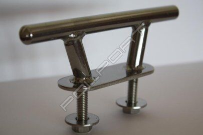 """Polport Stainless Steel 2 Hole Boat Yacht Deck Cleat 6/"""" PREMIUM CLASS 150 mm"""