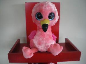 Ty Beanie Boos GILDA flamingo - MEDIUM 9 INCH NWMT - approx ... 39d22ea15ce