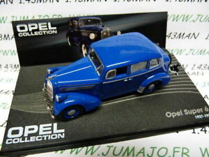 OPE92R-voiture-1-43-IXO-eagle-moss-OPEL-collection-SUPER-6-1937-1938