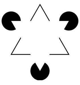 """Résultat de recherche d'images pour """"illusion d'optique triangle"""""""