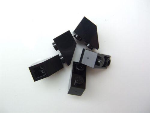 366526 5 x Lego Black ROOF TILE 1X2 INV Parts /& Pieces