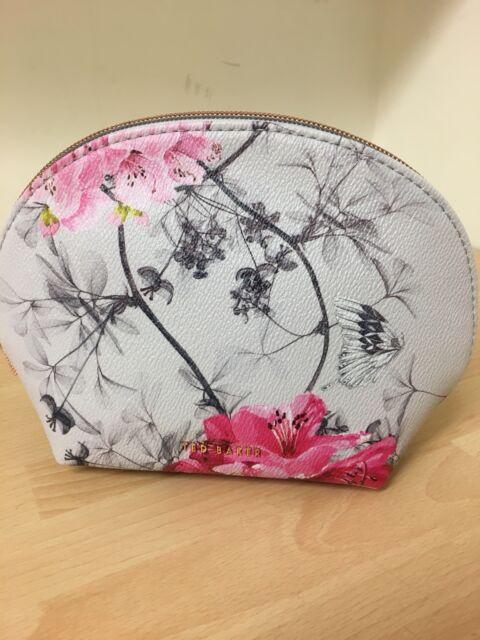 015c8d57a Ted Baker Small Dome Babylon Grey Print Make up Bag Sabina 95294 for ...