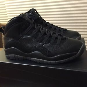 225cddcac68a6a ireland air jordan 10 ovo black vnds 07849 37823  order image is loading  brand new in box nike air jordan 10 1654a e185f