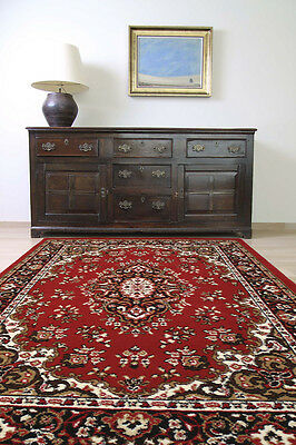 Quality Vintage Antique Rug - Cheap Mats - Small Rugs Runner - Large - Red Beige