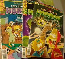 Bart Simpson - TREEHOUSE OF HORROR n°1,2 e 3 MACCHIA NERA