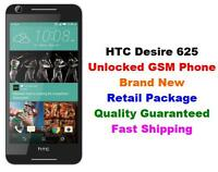 Unlocked Gsm Cricket At&t T-mobile Htc Desire 625 4g Lte Android 5 8gb (white)