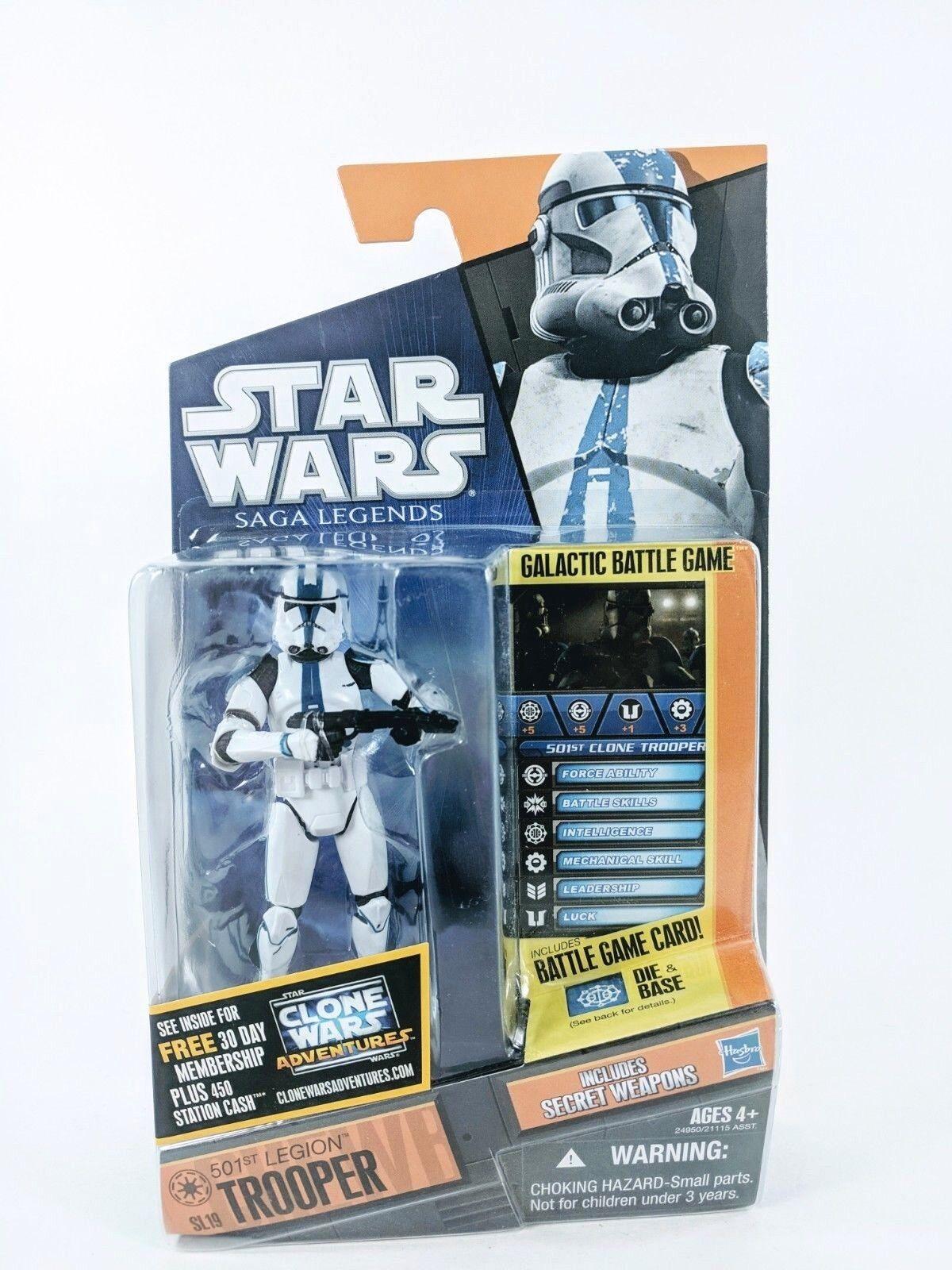 star wars  - saga legenden - 501. legion trooper - 3,75 actionfigur neue   sl19