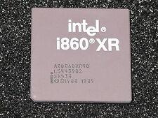 INTEL CPU i860XR A80860XR-40 SX438 von 1996 selten RAR! Vintage Gold Chip