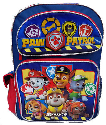 Paw PATROL Childrens SHOPPING BAG Tote Con Cerniera 29 x 36cm