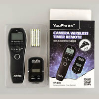 Wireless Shutter Timer Remote For Panasonic Lumix Dmc-g10 Dmc-g5 Dmc-g3 Dmc-g2