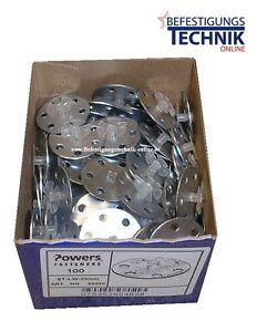 100-Stahlscheiben-Rondelle-W-RO-25mm-Powers-C5-C4-Wuerth-Diga-Hitachi-Betonnagler