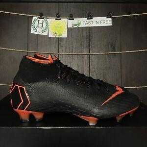 3a896697106f Nike Mercurial Superfly 6 360 Elite FG Black Orange White AH7365 081 ...